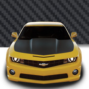 HOOD WRAP : Automotive Vinyl Graphics and Decals Kit - Shown on CHEVY CAMARO (M-922)