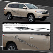 CRUISIN : Automotive Vinyl Graphics Shown on Toyota Highlander (M-09224)