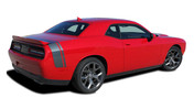 Challenger SCAT PACK QP : Factory OEM Scat Pack Style Vinyl Rally Stripes for 2015 2016 2017 2018 Dodge Challenger! - FITS APPLICATIONS WITH SPOILER (AS SHOWN IN PICTURES)