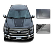 "Ford F-150 ""Tremor FX Appearance Package Style"" Hood Vinyl Graphics and Decals Kit! Ready to install for your F-150 Ford Truck for 2009 2010 2011 2012 2013 2014 and 2015 2016 2017 2018 Models. Professional ""OEM Style"" and Design! For Automotive Restylers and Dealers!"