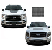 "FORCE HOOD Screen Print : Ford F-150 ""Appearance Package"" Hood Vinyl Graphic Kit for 2009-2014 and 2015 2016 2017 Models (M-PDS3519)"