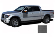 "FORCE ONE Screen Print : Ford F-150 Hockey Stripe ""Appearance"" Style Vinyl Graphics and Decals Kit for 2009-2014 and 2015 2016 2017 2018 Models (M-PDS3515)"