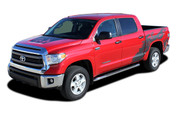 SHREDDER : 2014 2015 2016 2017 Toyota Tundra Crew Max 5.5 ft Short Bed Vinyl Graphic Decal Kit (M-EE3673.74)