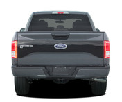 REAPER TAILGATE Solid Color : Ford F-150 Tailgate Blackout Vinyl Graphic Decal Stripe Kit for 2015 2016 2017 Models (M-PDS3976)