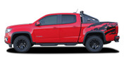 ANTERO : 2015 2016 2017 2018 Chevy Colorado Rear Truck Bed Accent Vinyl Graphic Package Decal Stripe Kit (M-PDS-4151)