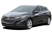 OVERPASS : Chevy Cruze Stripes Upper Door Accent Decals 2017-2018 Vinyl Graphics Hatchback or Coupe Kit (M-PDS-5104)