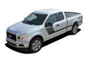 SPEEDWAY : Ford F-150 Stripes Decals Special Edition Lead Foot Style Package Hockey Stripe Vinyl Graphics 2015 2016 2017 2018 (M-PDS-5239)