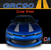 2016-2018 Chevy Camaro Hood Clone Stripe Vinyl Graphic Decal Kit (M-GRC90)
