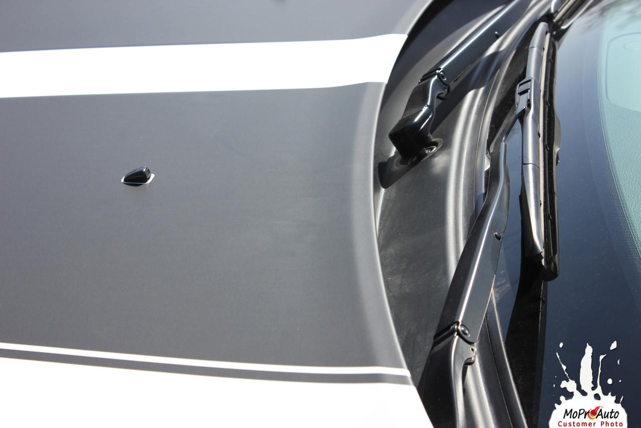 DURANGO PROPEL HOOD | 2011 2012 2013 2014 2015 2016 2017 2018 Dodge Durango Hood Blackout Vinyl Graphics Kit MoProAuto Pro Design Series