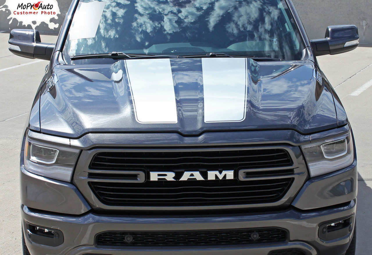 Ram Rally 2019 Dodge Ram Racing Stripes Hood Decals Tailgate Vinyl