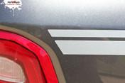 RAM EDGE  : 2019 2020 2021 Dodge Ram Side Door Body Stripes Vinyl Graphics Kit MoProAuto Pro Design Series