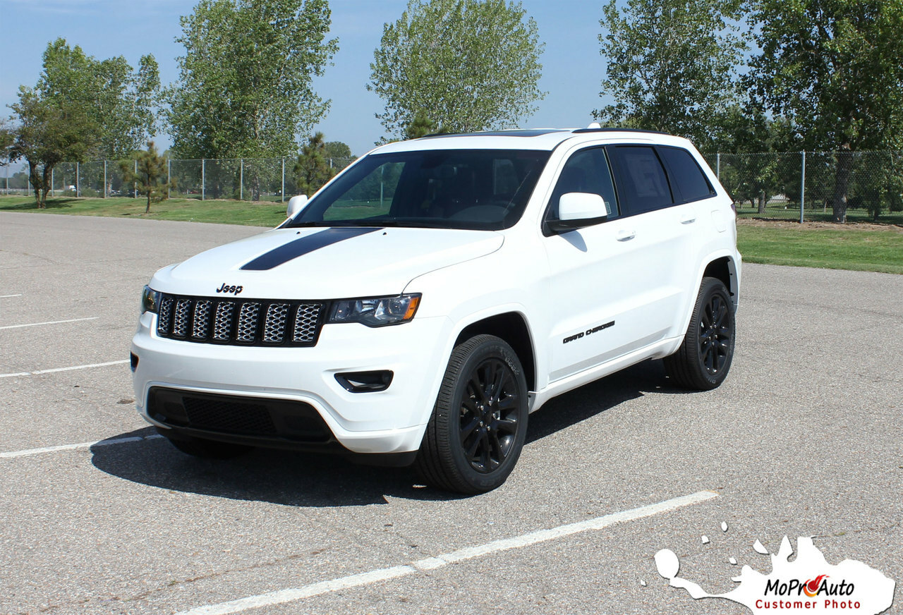 PATHWAY HOOD Jeep Grand Cherokee Hood Graphic - MoProAuto Pro Design Series Vinyl Graphics, Stripes and Decals Kit