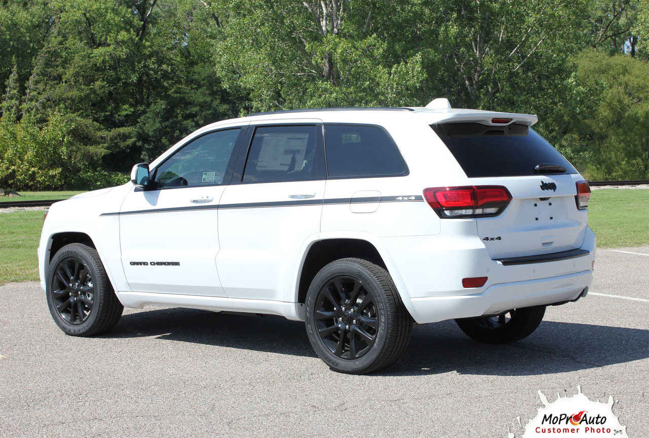 PATHWAY Sides Jeep Grand Cherokee Door Graphic - MoProAuto Pro Design Series Vinyl Graphics, Stripes and Decals Kit