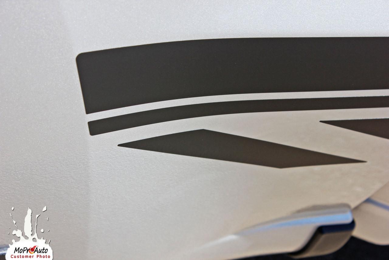 2019 2020 2021 SILVERADO ROCKER 2 - CHEVY SILVERADO - MoProAuto Pro Design Series Vinyl Graphics, Stripes and Decals Kit