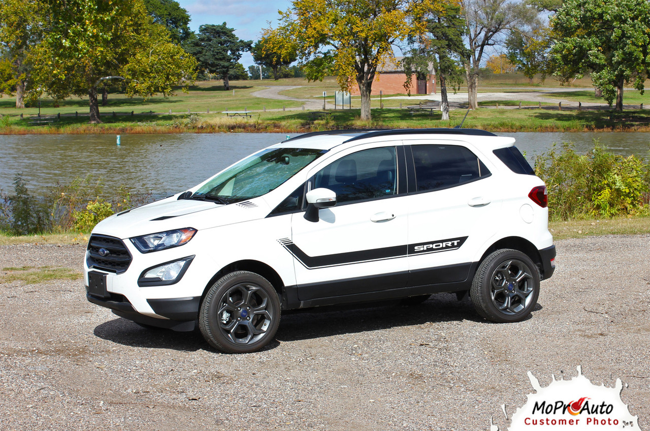 FLYOVER Ford EcoSport - MoProAuto Pro Design Series Vinyl Graphics, Stripes and Decals Kit