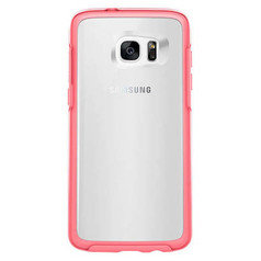 OtterBox Symmetry Clear Case Samsung Galaxy S7 Edge - Clear/Candy Pink