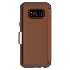 OtterBox Strada Wallet Case Samsung Galaxy S8+ Plus - Burnt Saddle