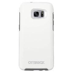 OtterBox Symmetry Case Samsung Galaxy S7 Edge - White/Gunmetal Grey
