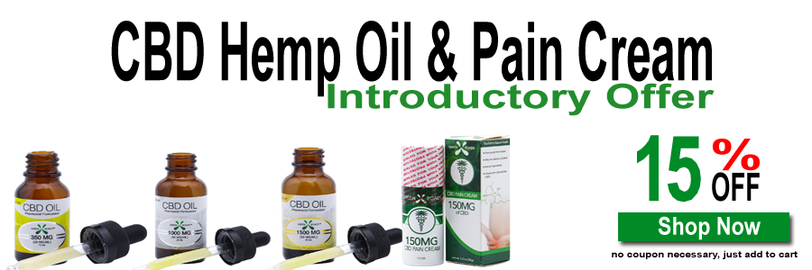 CBD Industrial Hemp Oil & Pain Cream