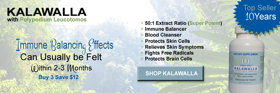 Organic Hope Kalawalla with Polypodium Leucotomos For Immune Support