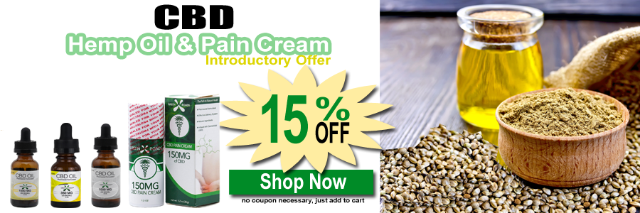 CBD Hemp Oil & CBD Pain Cream
