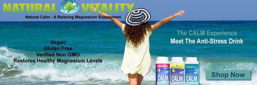 Natural Vitality Natural Calm Magnesium Supplement - The Anti Stress Drink