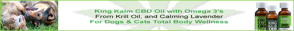King Kalm CBD + Krill Oil for Dogs & Cats