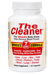 Century Systems The Cleaner Women's 7 Day Formula, The Ultimate Body Detox (52 Caps)