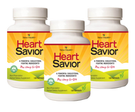 New Health Corp Heart Savior 3 Bottles (120 Capsules Per Bottle) Supplement Facts