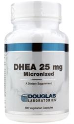 Douglas Laboratories DHEA 25 mg. (100 Micronized VCaps)