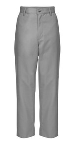 Male Flat Front Pants - NVY & GRY