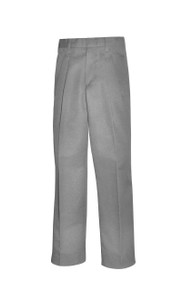 Male Pleated Front Pants - NVY&GRY