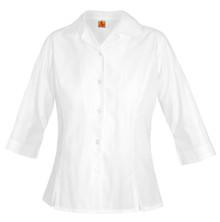 Girls Oxford 3/4 Sleeve Shirt  - WCA