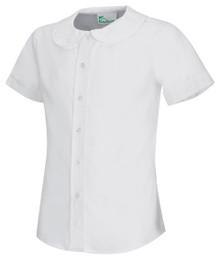 Classroom Girls Short Sleeve Peter Pan Blouse - FJCS