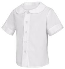 Classroom Toddler Short Sleeve Peter Pan Blouse - FJCS