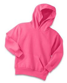 Port & Company® - Youth Core Fleece Pullover Hooded Sweatshirt w/Embroidery Logo - Trinity