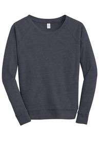 Alternative® Eco-Jersey Slouchy Pullover w/Embroidery Logo - Trinity
