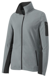 Port Authority® Ladies Summit Fleece Full-Zip Jacket w/Embroidery Logo - Trinity