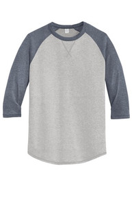 Alternative® Dugout 3/4-Sleeve Vintage 50/50 Tee w/Spirit Screen Logo - Trinity