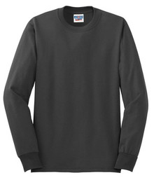 JERZEES® - Dri-Power® Active 50/50 Cotton/Poly Long Sleeve T-Shirt w/Spirit Screen Logo - Trinity