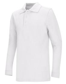 Classroom Interlock Long Sleeve Polo Shirt - TPA