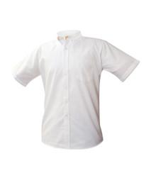 Boys Short Sleeve Oxford Shirt