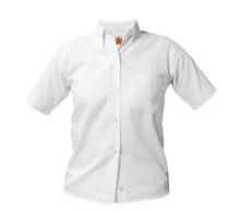 Girls Oxford Shirt Short Sleeve