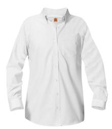 Girls Oxford Shirt Long Sleeve