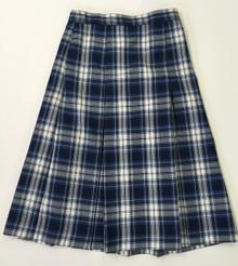 "Girls Skirt - Center Box Pleat w/5"" added"