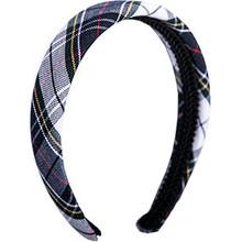 Padded Headband Plaid 8B