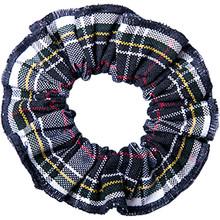 Hair Scrunchie Plaid 8B
