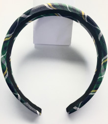 Padded Headband Plaid 1B
