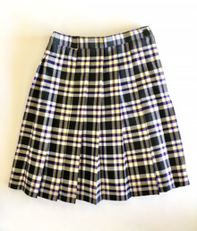 Girl's Knife Pleat Skirt - P2M