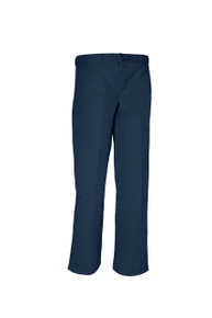 Male Flat Front Pants - Navy Only
